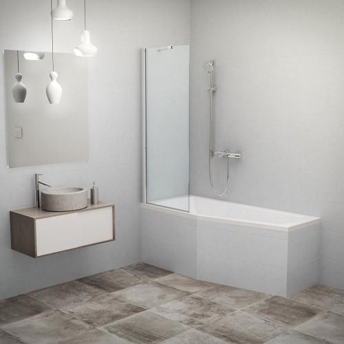Фиксированная ширма для ванны Roth PXV1/750