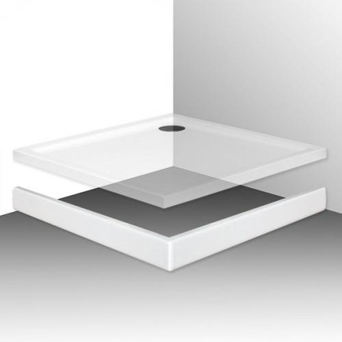 Фронтальная панель для поддона Roth Flat Kvadro 100