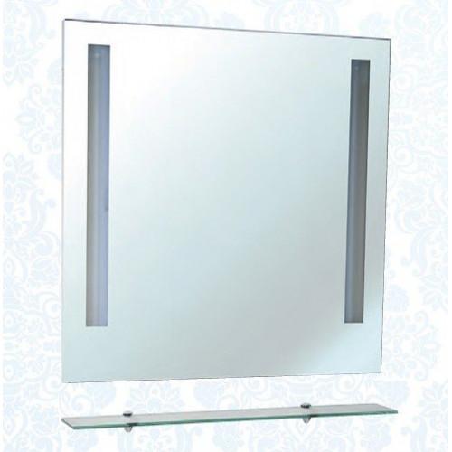 Зеркало с полкой, внутренняя подсветка, Ника-80, Bellezza