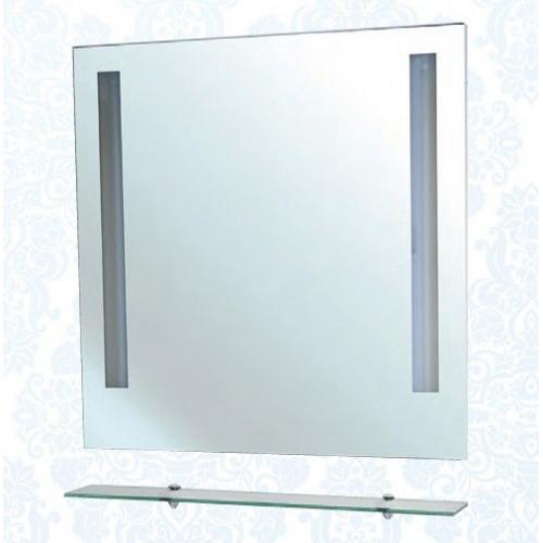 Зеркало с полкой, внутренняя подсветка, Ника-90, Bellezza