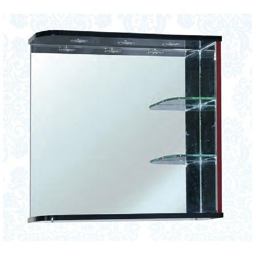 Рио-90 зеркало с инфракрасным выключателем, 91 см, комбинированое, красное, левое, правое, датчик движения руки, Bellezza