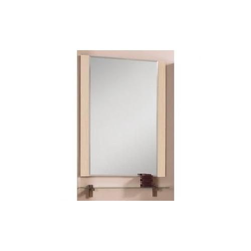 Зеркало 65см, Альпина 65 дуб молочный, Акватон