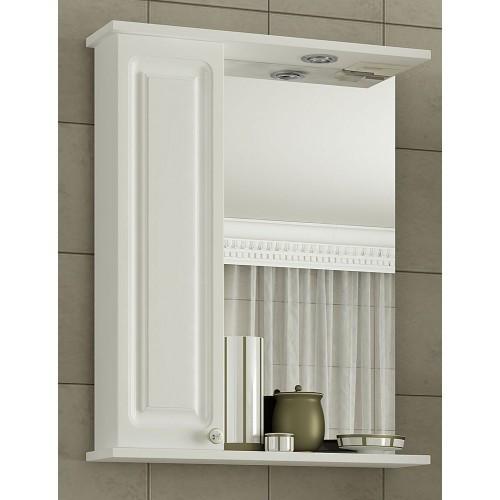 Шкаф-зеркало Francesca Империя 65 белый левый