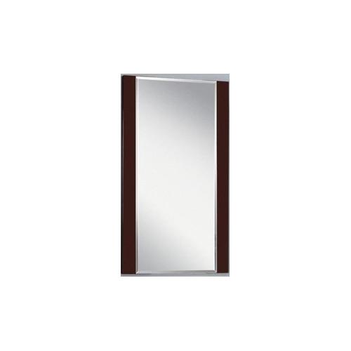 Зеркало 50см, Ария 50, коричневый, Акватон