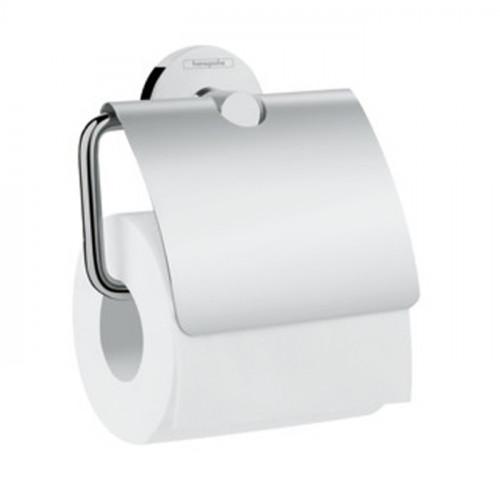 Держатель туалетной бумаги с крышкой Hansgrohe Logis Universal 41723000