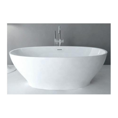 Акриловая отдельностоящая ванна 165x80см ABBER AB9207