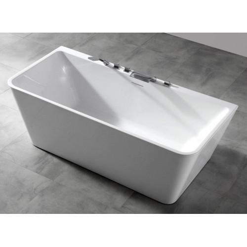 Акриловая отдельностоящая ванна 170x80см ABBER AB9298