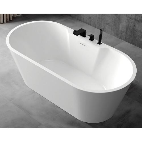 Акриловая отдельностоящая ванна 170x80см ABBER AB9299-1.7