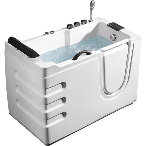 Акриловая гидромассажная ванна 130x70см ABBER AB9000 B R