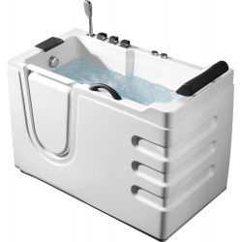 Акриловая гидромассажная ванна 130x70см ABBER AB9000 B L