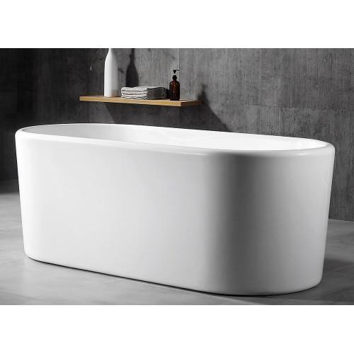 Акриловая отдельностоящая ванна 170x70см ABBER AB9272-1.7
