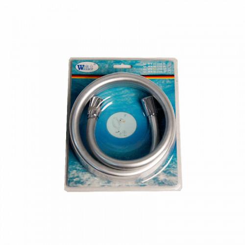 Шланг для душа серибристо-серый 155см, Welt Wasser, WW BS Арт. 1550 PL
