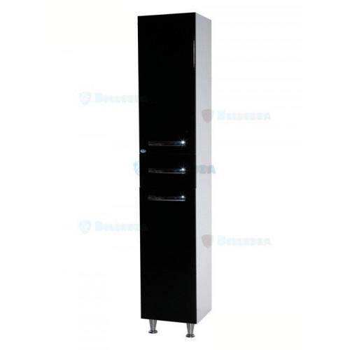Рокко-35 шкаф пенал, 35 см, с бельевой корзиной, белый, левый, правый, Bellezza