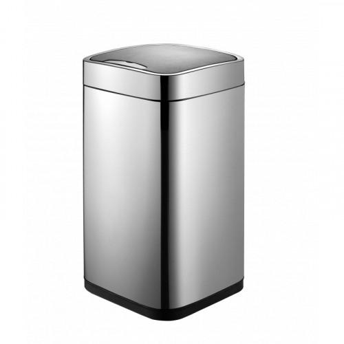 Сенсорное мусорное ведро матовая сталь, Welt Wasser, WW RONE МТ 35L