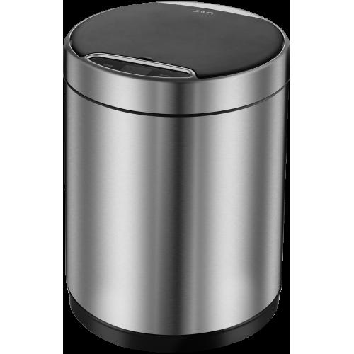Сенсорное мусорное ведро матовая сталь, Welt Wasser, WW KIDY МТ 9L