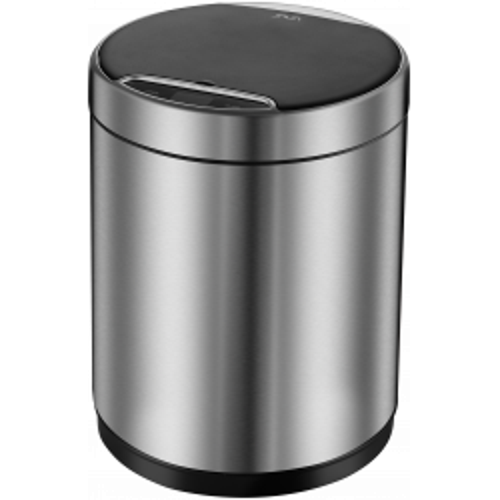 Сенсорное мусорное ведро матовая сталь, Welt Wasser, WW KIDY МТ 12L