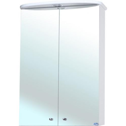 Зеркало-шкаф Bellezza Мимоза 50 с подсветкой