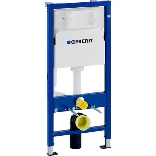 Инсталляция Geberit DuofixBasic для подвесного унитаза, 112 см, со смывным бачком скрытого монтажа Delta 12 см (458.103.00.1)