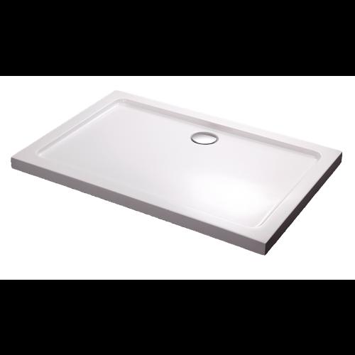 Душевой поддон 100х80х5.5 см, Black & White, RS-0810