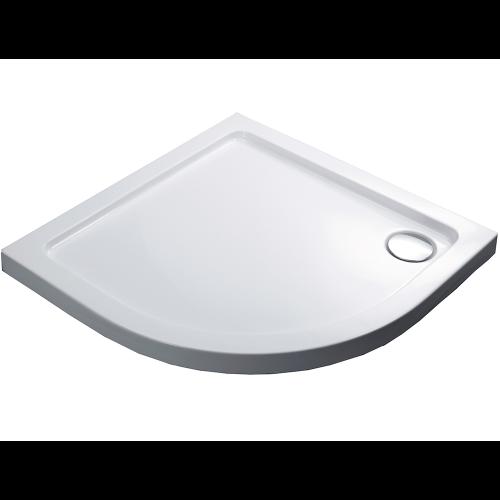 Душевой поддон 100х100х5.5 см, Black & White, QC-10