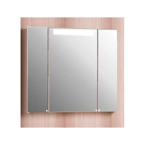Зеркальный шкаф со светильником 80см, Мадрид 80 М, Акватон