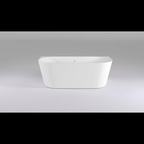 Ванна акриловая пристенная 170x80х58 см, Black & White, SB116