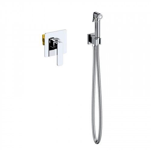 Смеситель встроенный с гигиеническим душем Timo Torne хром 4389/00SM