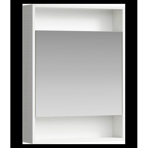 Зеркальный шкаф 60см Aqwella City дуб канадский