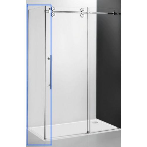 Неподвижная стенка Kinedoor Line KIB/900, 90см, профиль хром, Roltechnik