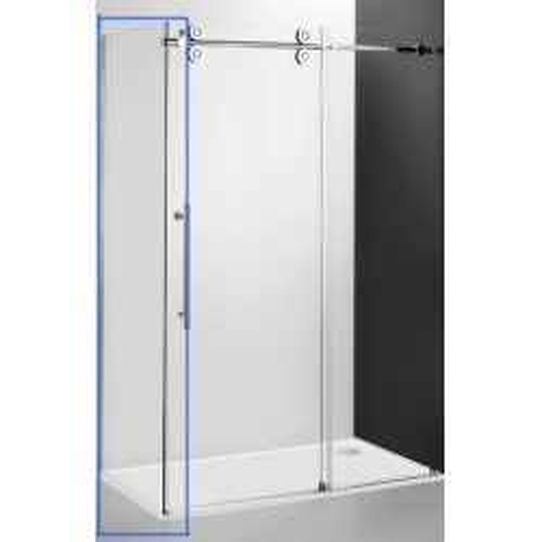 Неподвижная стенка 100 см, Kinedoor Line KIB/1000, профиль хром, Roltechnik