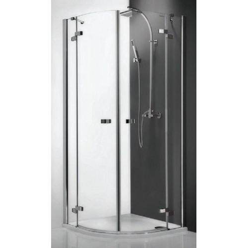 Душевое ограждение Elegant Line GR2/900, полукруглое 90см, профиль хром, Roltechnik