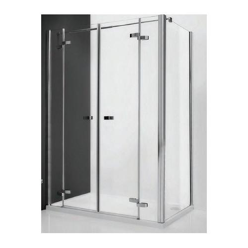 Душевая дверь в нишу или комбинации Elegant Line GDN2/1500, 150см, правая, левая, профиль хром, Roltechnik