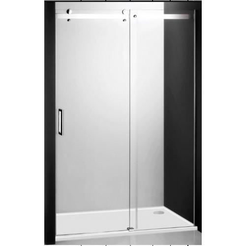 Душевая дверь в нишу или комбинации Ambient Line AMD2/1400, 140см, профиль хром, Roltechnik