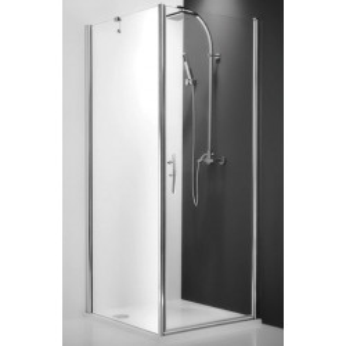 Распашная дверь для комбинации Tower Line TCO1/900, 90см, профиль мат. хром, Roltechnik