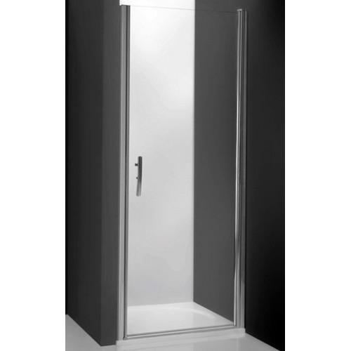 Душевая дверь в нишу Tower Line TCN1/80, 80см, профиль мат. хром, Roltechnik