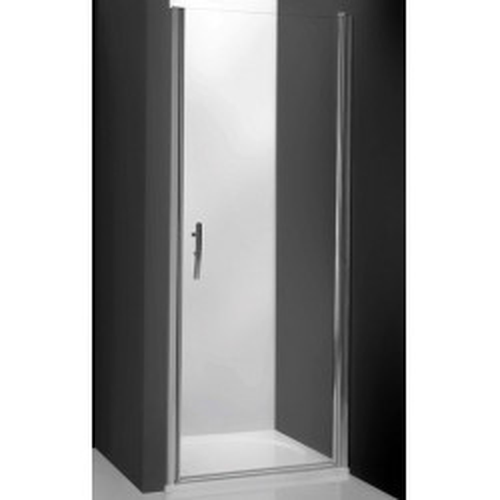 Душевая дверь в нишу Tower Line TCN1/90, 90см, профиль мат. хром, Roltechnik