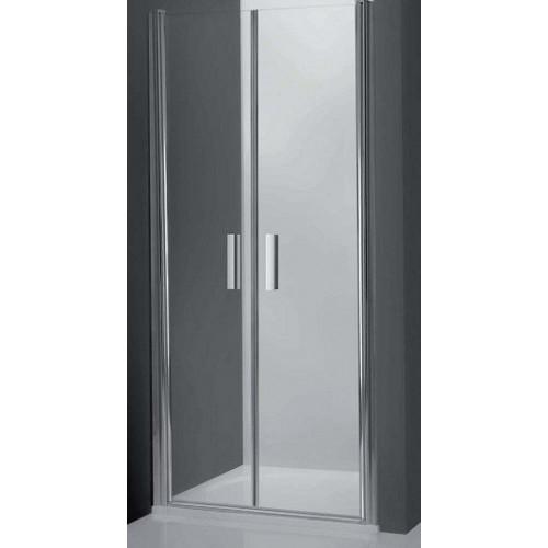 Душевая дверь в нишу Tower Line TCN2/80, 80см, профиль мат. хром, Roltechnik