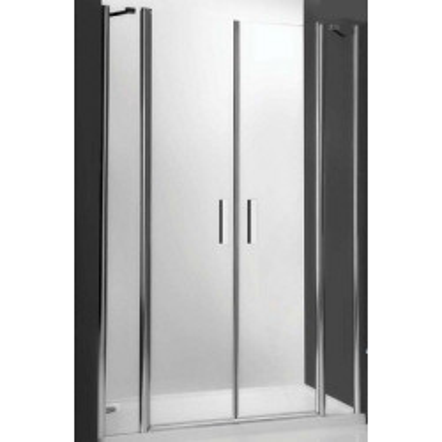 Душевая дверь в нишу или комбинации Tower Line TDN2/1400, 140см, профиль хром, Roltechnik