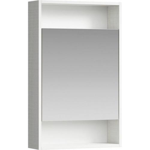Зеркальный шкаф 50см Aqwella City дуб канадский