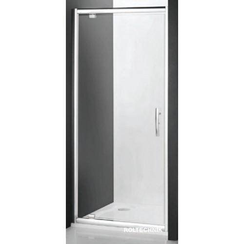 Душевая дверь в нишу или комбинации Proxima Line PXDO1N/1100, 110см, профиль хром, Roltechnik