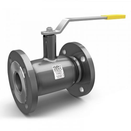Кран шаровый стальной цельносварной LD Ду 125/100 Ру16 фланцевый неполнопроходной