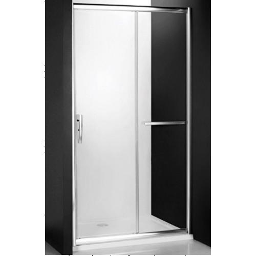 Душевая дверь в нишу или комбинации Proxima Line PXD2N/1400, 140см, профиль хром, Roltechnik