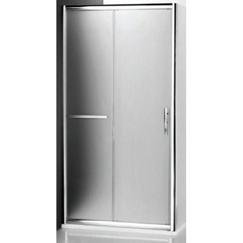 Душевая дверь в нишу или комбинации Proxima Line PXD2N/1400 Satinato, 140см, профиль хром, Roltechnik