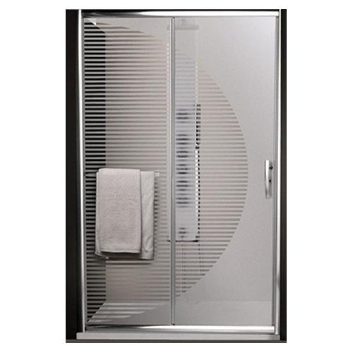 Душевая дверь в нишу или комбинации Proxima Line PXD2N/1200 Design Plus, 120см, профиль хром, Roltechnik