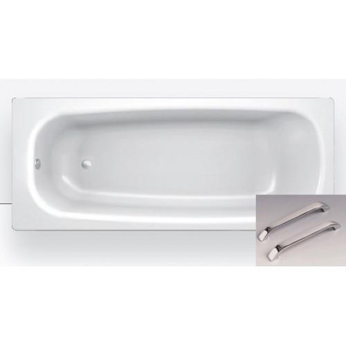 Ванна стальная 170x75 BLB Universal, 3,5мм, с шумоизоляцией, с отв.для ручек, B75H handles