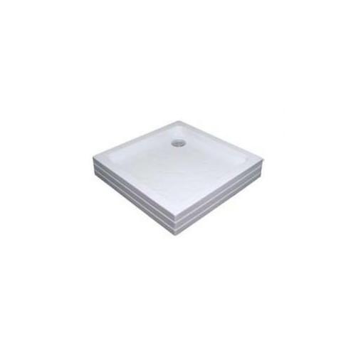 Душевой поддон акриловый 80x80, квадратный, Kaskada Angela PU, Ravak A004401120