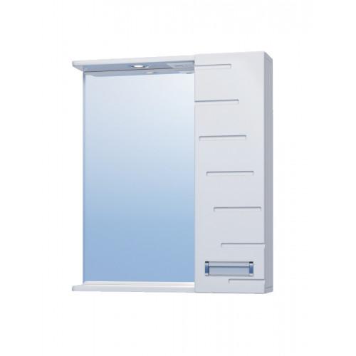 Зеркало Diana 60, с подсветкой, шкафчик справа, Vigo