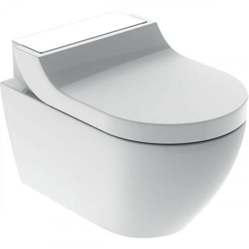 Подвесной унитаз-биде Geberit AquaClean Tuma Comfort, Белый/Стекло