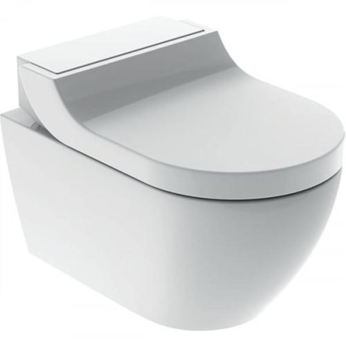 Подвесной унитаз-биде Geberit AquaClean Tuma Comfort, Альпийский белый