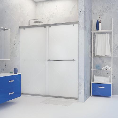 Душевая дверь матовое стекло 140х195 см, RGW, TO-11